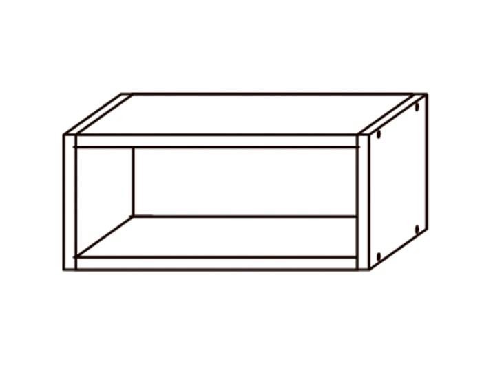 Кухонный шкаф-полка ПЛ400
