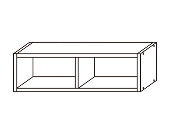 Кухонный шкаф-полка ПЛ600