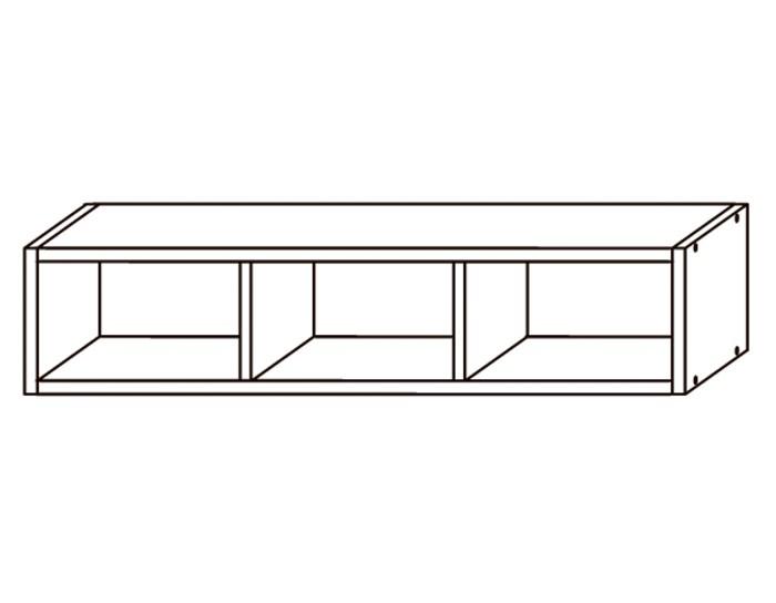 Кухонный шкаф-полка ПЛ800