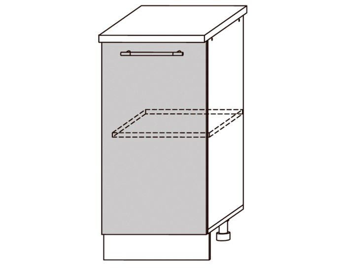 Кухонный шкаф Мокко ШН450 без столешницы