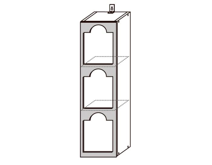 Кухонный шкаф Виста ШВБН200-3