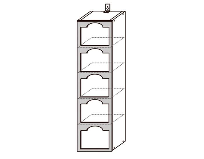 Кухонный шкаф Верона ШВБН200-5