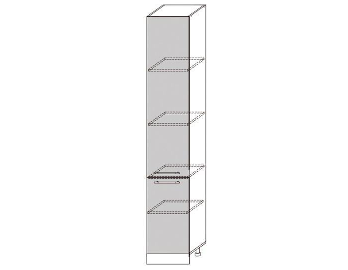 Кухонный шкаф-пенал Гренада ШВП400-2336