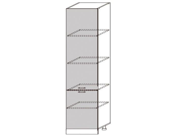 Кухонный шкаф-пенал Гренада ШВП600-1-2336