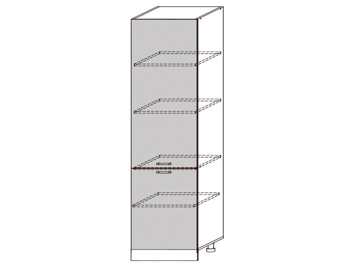 Кухонный шкаф-пенал Бруклин ШВП600-1