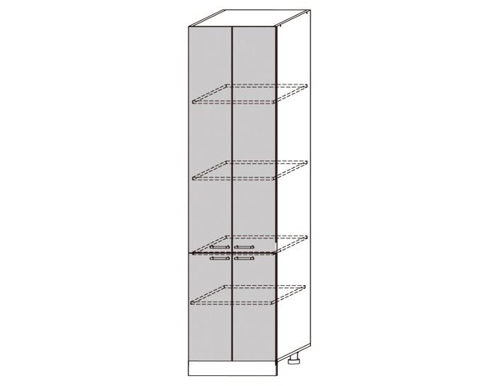 Кухонный шкаф-пенал Гренада ШВП600-2336