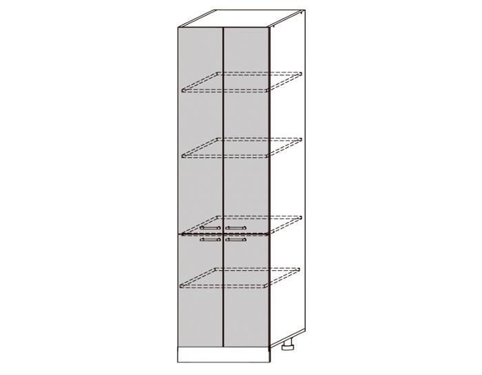 Кухонный шкаф-пенал Бруклин ШВП600