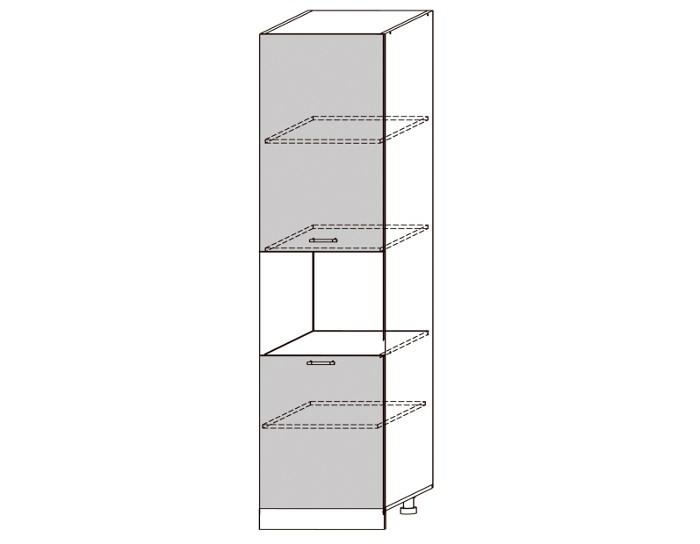 Кухонный шкаф-пенал Гренада ШВПД600-1-2336