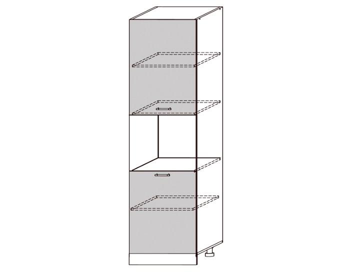 Кухонный шкаф-пенал Бруклин ШВПД600-1