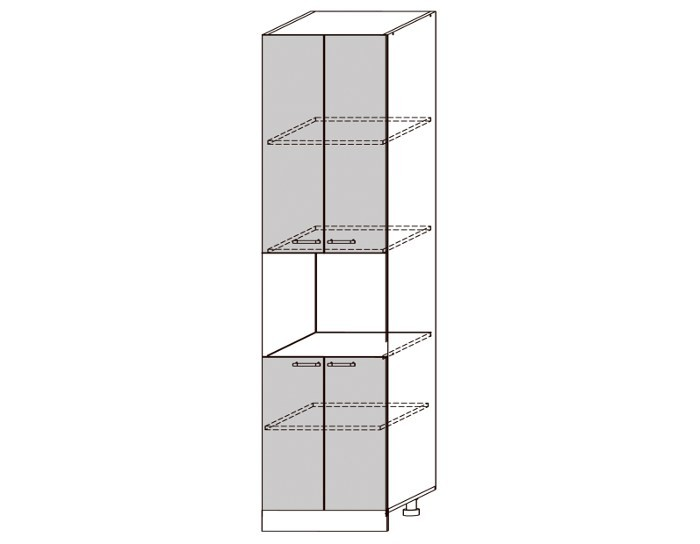 Кухонный шкаф-пенал Гренада ШВПД600-2336
