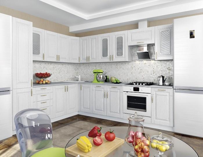 Кухня Верона сосна белая