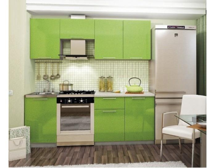 Кухонный гарнитур София зеленый