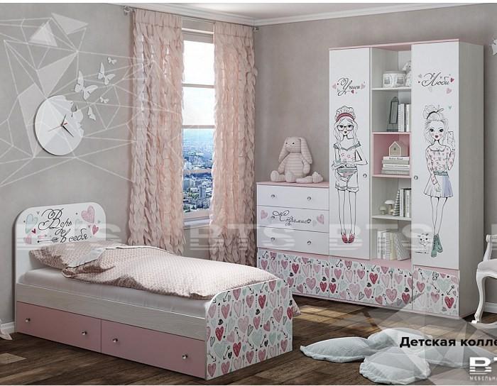 Модульная детская мебель Малибу