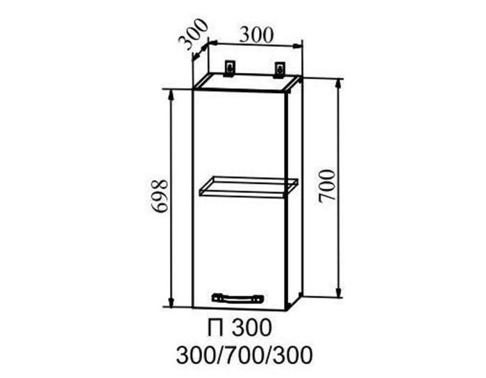 Кухонный шкаф Капри П300